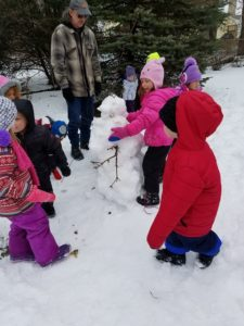 Winter fun at The Big Barn Preschool!